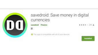 Getting Started with Savedroid Cryptosaving App