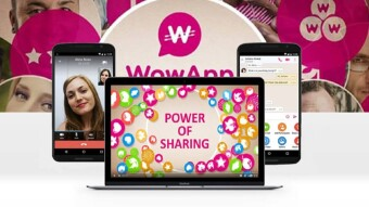 WowApp – Chat, read, talk, share, shop, play game, earn and do good