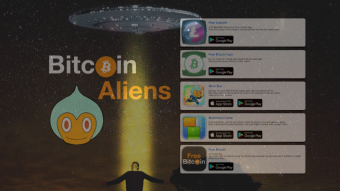 Earn BTC, BCH & LTC From Your Phone With These 5 Bitcoin Aliens Apps