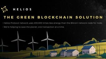 HELIOS PROTOCOL: THE GREEN BLOCKCHAIN SOLUTION