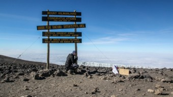 Showcase Sunday: Summiting Mount Kilimanjaro