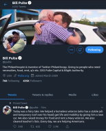 "Bill Pulte giving away thousands of dollars of crypto and cash on Twitter to his ""teammates"""