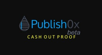 My 1st Cash Out On Publish0x: 390.1912 HYDRO = $0.55