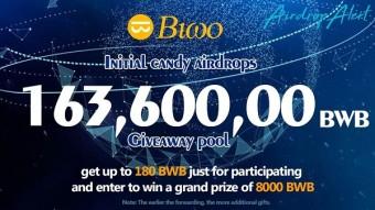 Biwo Exchange (BWB) Airdrop / Value: 180 BWB (~$ 1) / No referral program /