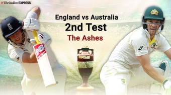 Second test draw of The Ashes.