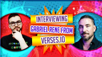 Interviewing Gabriel Rene From Verses.io