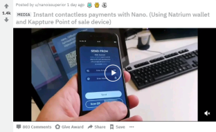 Nano Payments Faster Than Centralized Systems - New Viral Video Makes Merchants Want To Implement Nano