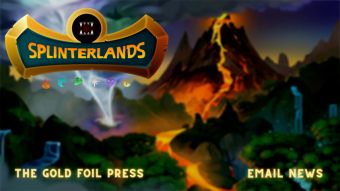 Introducing the Gold Foil Press - Splinterlands Regular Email Newsletter