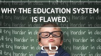 The EDUCATION system is NOT EDUCATING