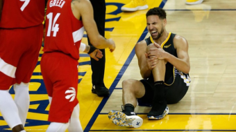 ⛑️ Klay Thompson: We could win championship if i didn't injured..
