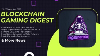 Blockchain Gaming Digest 21-27 September 2020