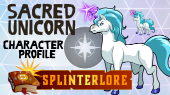 Sacred Unicorn - Splinterlands Monster Profile
