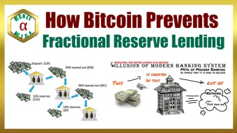 Bitcoin Prevents Fractional Reserve Lending