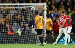 Wolves vs Man United match 1-1 goal draw.