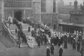 1901 - Funeral of Queen Victoria