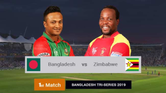 Bangladesh won by 3 wickets in Afif is remarkable batting.