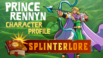 Splinterlands Legendary Profile - Prince Rennyn