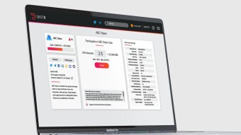 DistX, The Best Token Sale Platform Presenting an Exciting UI Design
