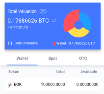 EOKEX Exchange Airdrop Worth 0.1 BTC