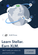 Coinbase $50 Stellar Lumen XLM earn!