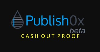 Second Cash Out Proof Here On Publish0x - The Best Way To Start Your Week, Motivated