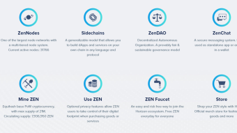 What is Horizen (formerly ZenCash)? A privacy ecosystem.