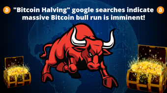"""Bitcoin Halving"" google searches indicate massive Bitcoin bull run is imminent!"