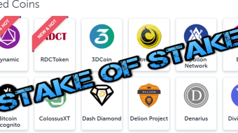 Stack of Stake - The Staking Masternodes of Mostly Unknown Coins but have High ROIs