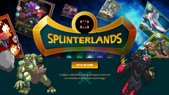 Splinterlands - Blockchain Card Game - earn DEC/ETH