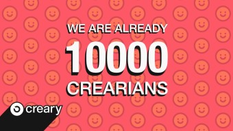 10,000 USERS ON CREARY!