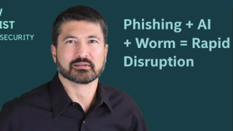 Cyber Threats Enhance Phishing with AI and Worm Functions for Rapid Disruption