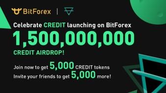 Credits airdrop/registration bonus (already listen on coinmarketcap)