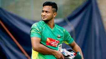 Shakib holiday ended today