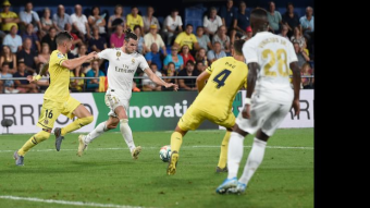 Real Madrid did not win a pair of Gareth Bale