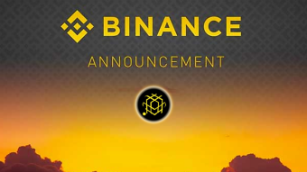 Binance announcement to read before starting the week