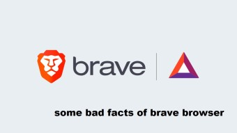 Bad sides of Brave Browser