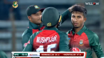 Bangladesh won by 4 wickets.