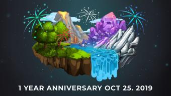 CryptantCrab 1 Year Anniversary