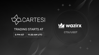 WazirX — The World's Largest Indian Exchange Lists CTSI