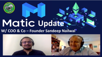 MATIC Network Sept 2019 Update - DeFI, Gaming, Partnerships & Adoption W/ Sandeep Nailwal