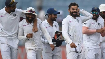 India won by innings and 137 runs.