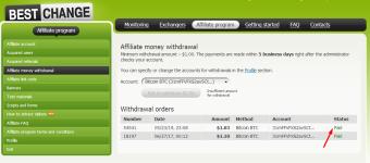 Bestchange Payout! Instant to BTC wallet