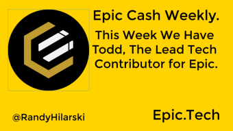 Epic Cash Weekly Update.