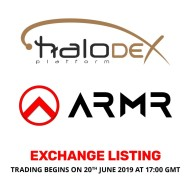 ARMR Enlists on HaloDEX