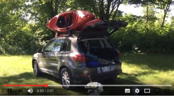 Camping out in a VW Tiguan:  A Publish0x Roadtrip surviving on DAI Stablecoins.