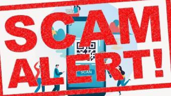 SCAM alert: QR codes