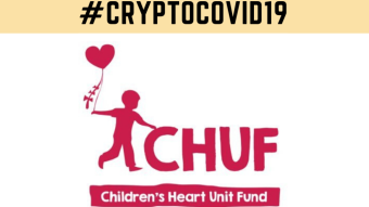 I've made a $10k Donation to CHUF (Children's Heart Unit Fund) for #cryptocovid19
