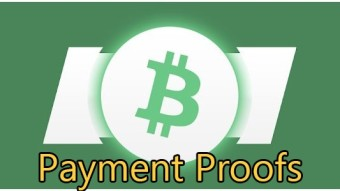 Earn BitcoinCash with this app! Payment proofs