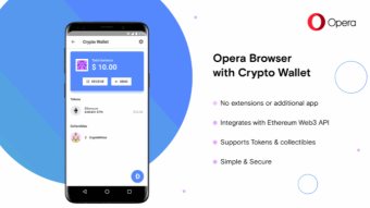 Opera browser will soon offer cryptocurrency on Android