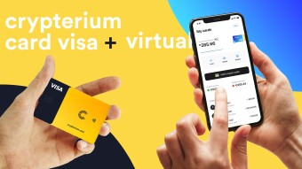 Crypterium Launches a Virtual Card in Partnership with Apple Pay